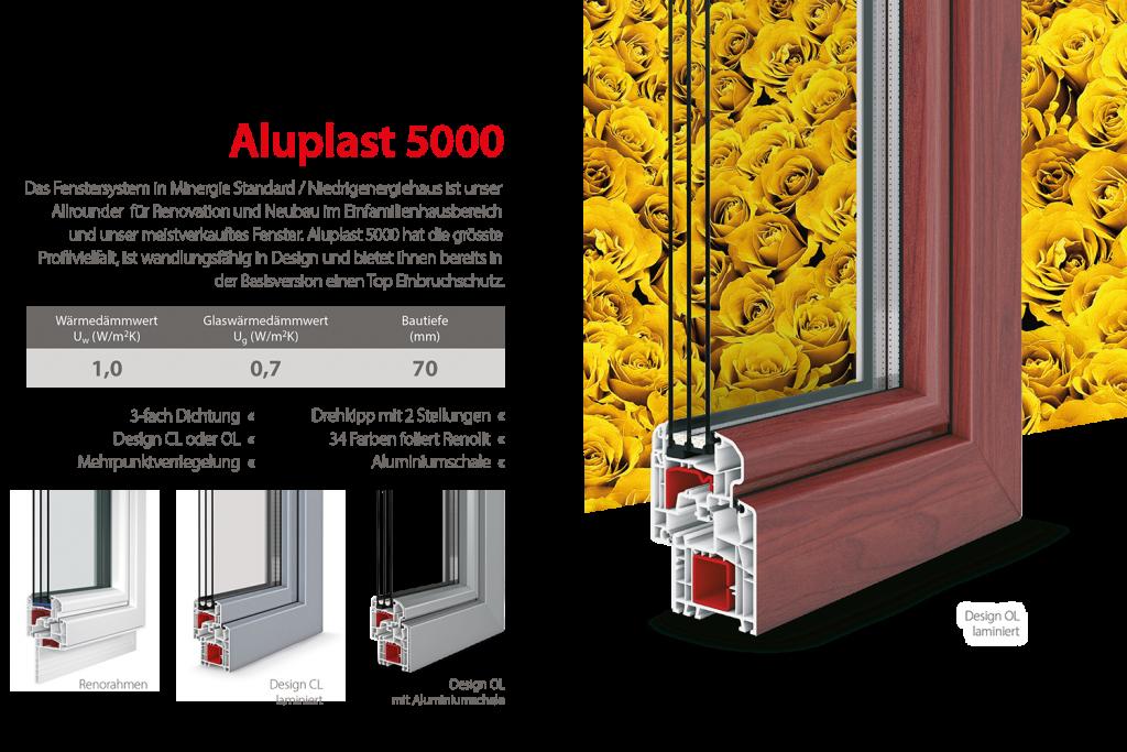 Aragon Bauelemente Aluplast 5000