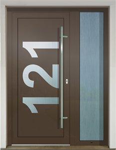 Eingangstuere Aluminium 16